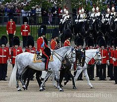 Trooping the Colour by The British Monarchy, via Flickr