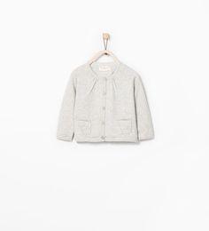 ZARA - KIDS - Cardigan basic boutonné