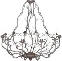 ornamental lighting fixture - nature chandelier - custom made Custom Lighting, Chandeliers, Light Fixtures, Bespoke, Ceiling Lights, Nature, Home Decor, Naturaleza, Homemade Home Decor