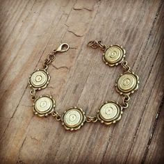 Hey, I found this really awesome Etsy listing at https://www.etsy.com/listing/205424076/9mm-antique-bronze-bullet-bracelet