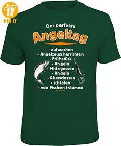Original RAHMENLOS T-Shirt für Angler und Fischer: Der perfekte Angeltag Größe XXL, Nr.6736 - T-Shirts mit Spruch | Lustige und coole T-Shirts | Funny T-Shirts (*Partner-Link)