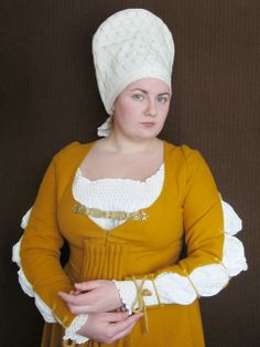 The yellow dress - or the housebook dress - 62   Flickr - Photo Sharing!