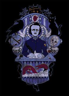 The Haunted Poet by SRJ-ART