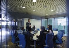 Business people having meeting in conference room stock photo 81642319 - iStock