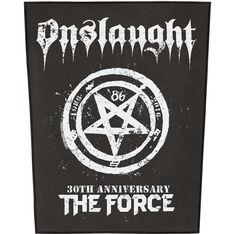 Global Merchandising Services TESTAMENT The Legacy 30 Year Anniversary Patch