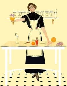 """Clarence Coles Phillips was an American artist and illustrator who first featured the """"fade-away girl"""" design - a figure whose clothing disappeared Vintage Artwork, Vintage Images, Vintage Illustrations, Retro Illustration, Vintage Ads, Life Magazine, Art Mat, Pin Up, Phillips Collection"""