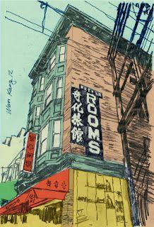 Urban Sketcher: Keefer Rooms