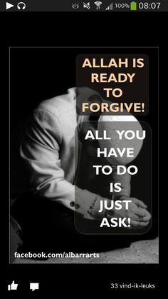 Just ask.. SubhanAllah ♥