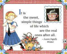 Laura Ingalls Wilder and Mary Engelbreit. Decoupage, Laura Ingalls Wilder, Mary Engelbreit, Cute Images, Good Thoughts, Cute Art, Childrens Books, Illustrators, Whimsical