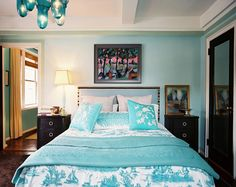 Loving all the soothing cool tones