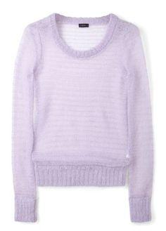 Joseph mohair knitted jumper, £185 - pastels - spring/summer 2012 trends