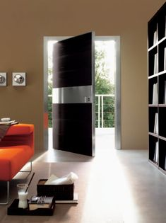 Cool door with pivot hinge....    Modern Doors from Oikos » CONTEMPORIST