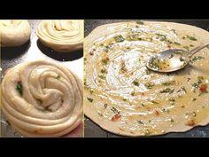 Unique Style Garlic Paratha ❤️ | Crispy Multilayered Garlic Paratha - YouTube