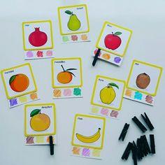Meyve ve renkler