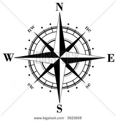 Compass Rose / little more delicate but I like this one