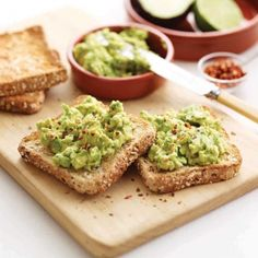 Spiced Avocado Toast.  Great healthy lunch time alternative.