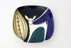 Rendier. Bord. Ontwerp: Inger Waage. Glaze Paint, Stavanger, Dinner Dishes, Vintage Ceramic, China Porcelain, Ceramic Pottery, Norway, Mid-century Modern, Scandinavian