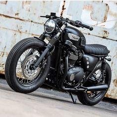 Triumph Motorcycle, a Bobber Concept. Triumph T100, Triumph Cafe Racer, Triumph Motorcycles, Indian Motorcycles, Standard Motorcycles, Vintage Motorcycles, Custom Motorcycles, Cafe Racer Motorcycle, Motorcycle Design