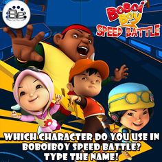 Which character do you use in BoBoiBoy Speed Battle?  Type the name!  Don't forget to LIKE and SHARE with everyone, and please FOLLOW the other social media of 8elements on: ▶️Instagram: @8elementsid ▶️Twitter: @8elements_ID ▶️Line ID: @kxe0905j ▶️PicMix: @boboiboy_games ▶️Youtube: 8elements – We understand Games! =========================================== #BoBoiBoyGalacticHeroes #BoBoiBoy #BoBoiBoyGalaxy #GameKids #GameTeenager #teenager #mobilegames #iosgames #androidgames