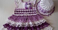 CHILD CROCHET DRESS: models and step by step!