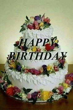 Happy Birthday Flowers Wishes, Purple Happy Birthday, Happy Birthday Greetings Friends, Happy Birthday Frame, Happy Birthday Wishes Images, Happy Birthday Celebration, Happy Birthday Pictures, Happy Birthday Candles, Happy Anniversary Cakes