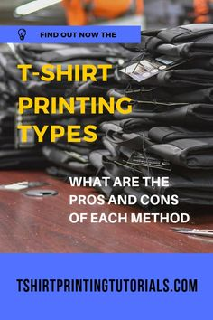 The Different Types of T-Shirt Printing | A COMPLETE Guide Types Of T Shirts, Cool T Shirts, Art Of Manliness, Different Types, Types Of Printing, Heat Transfer, Printed Shirts, Screen Printing, Shirt Designs