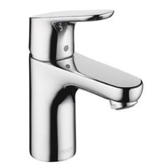 Hansgrohe - Focus 100 Single Hole Faucet $124 brushed nickel