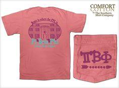 Pi Beta Phi Sorority Shirts by The Southern Shirt Co. Pi Phi ΠBΦ