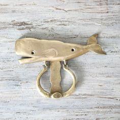 whale door knocker