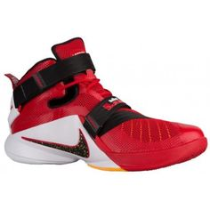 479a0583439 Nike Zoom Soldier 9 - Men s - Basketball - Shoes - LeBron James -  University Red Black Team Red White-sku 49417606