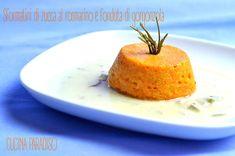 SFORMATINI DI  ZUCCA CON FONDUTA DI GORGONZOLA #cucinaparadiso #sformato #zucca…