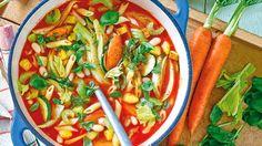 Voller Vital- und Antifett-Stoffen: Diese Suppe hilft ideal beim Abnehmen, vor allem aber ist sie lecker und gesund!