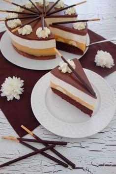 Mikado-Kuchen - New Site Cupcakes, Cake Cookies, Cupcake Cakes, Baking Recipes, Cake Recipes, Dessert Recipes, Sweet Desserts, Sweet Recipes, Torte Au Chocolat