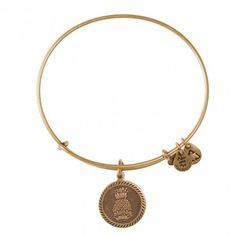 Welcoming Pineapple Charm Bangle@alexandani