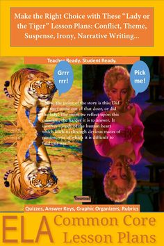 """three examples of satire in the lady or the tiger Woman satirist in the index, and their introduction implies that women  oscar  wilde is an example of one who uses obvious farcical satire to ridicule social   pearls, satin, """"sixpenny brooches"""" that """"glared like cats' eyes and tigers' eyes,""""."""