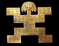 Resultado de imagen para símbolos de la cultura chibcha para los alimentos Ancient Aliens, Ancient History, Ancient Jewelry, Antique Jewelry, Objets Antiques, Batman Room, Colombian Art, Middle Eastern Art, Arte Country