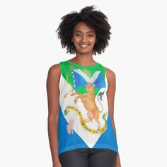 """Flag of Compassion"" Sleeveless Top by klephotography 