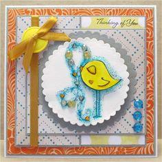 AJ's Creative Energy: Birdie Hearts Thinking