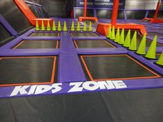 ALTITUDE TRAMPOLINE PARK (Little Rock, AR) offers over 200 inter-connected trampolines. Test your jumping skills on any number of obstacles, shoot hoops on the basketball lanes, or even launch yourself into Arkansas' largest foam pit. Artificial Grass For Dogs, Trampoline Jump, Cool Playgrounds, Carnival Rides, Indoor Playground, Little Rock, Sports Activities, Skate Park, Activity Centers