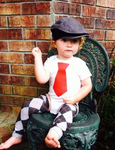 Tie Tshirt baby boy clothingFun Birthday by ByEllenBaby on Etsy, $12.95