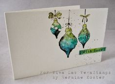 tutorial with bold stamps and Lyra by hermine