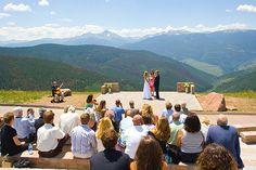 Vail Mountain Wedding Deck, Vail, Co