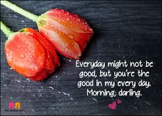 Good Morning Love SMS - Your Are The Good In My Life