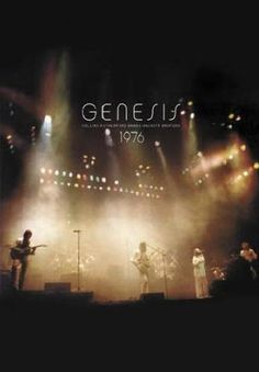 Genesis In Concert 1976 album cover