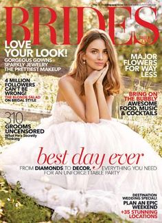 Get A Free 1 Year Subscription To Brides Magazine Is Great Inspire You Create Your Dream Wedding No Matter What Budg