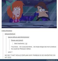 I liked this idea but I don't think so because Vanessa is older than Phineas and this was before Doofenshmirtz was married to Vanessa's mom.
