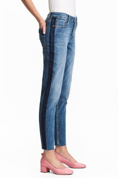 Straight Cropped Regular Jeans Model