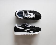 #Reebok classic in black. 54.99 USD