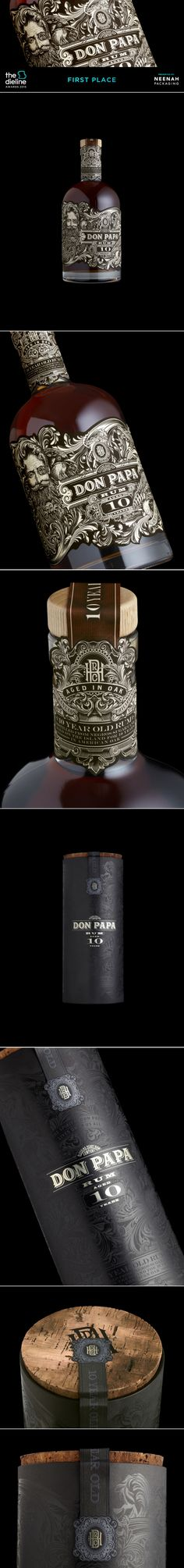 The Dieline Awards 2015: 1st Place Spirits- Don Papa 10 Year Old — The Dieline   Packaging & Branding Design & Innovation News