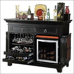 Home Bar Liquor Cabinet Furniture Pottery Barn Diy